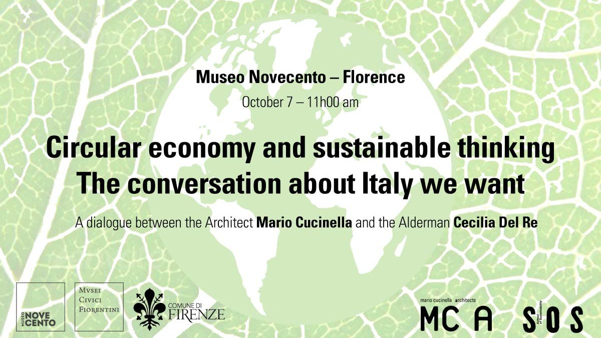TALK. Circular economy and sustainable thinking. The conversation about the Italy we want.