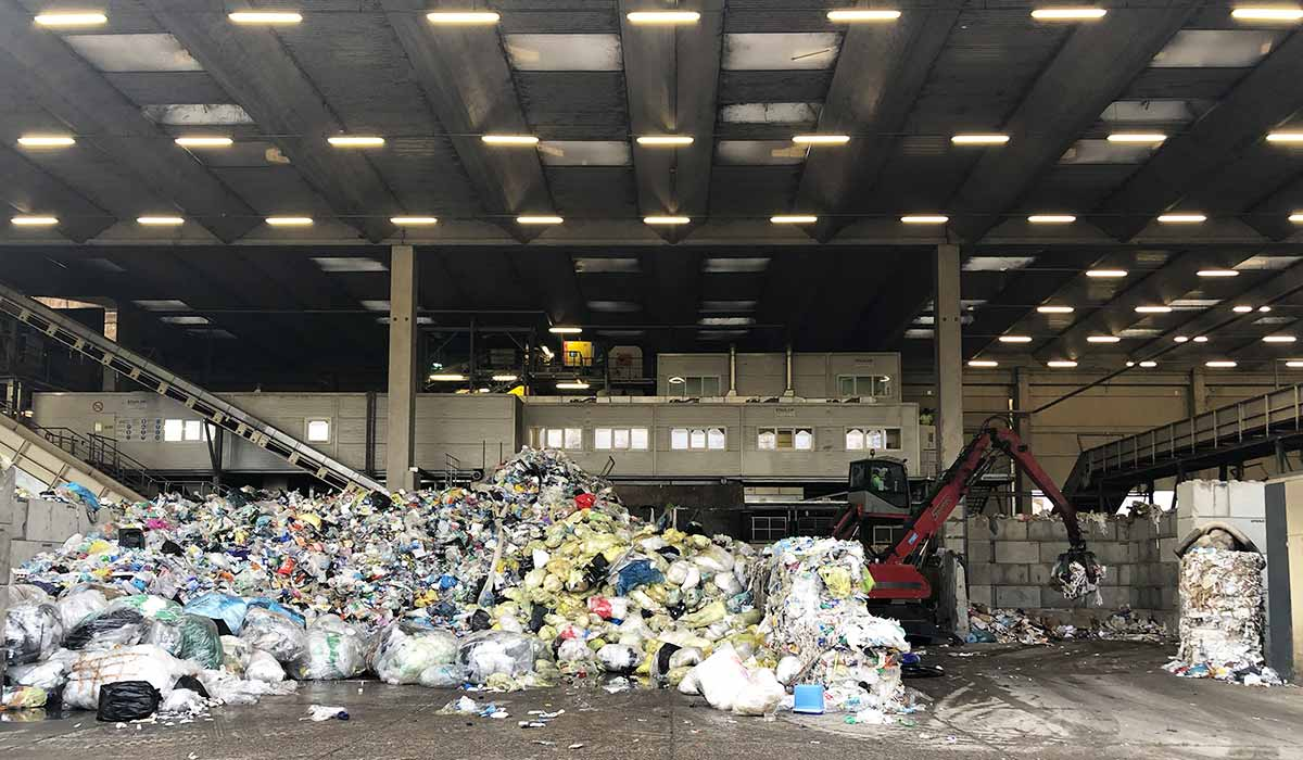 Efficient managing waste is the first step towards a circular economy
