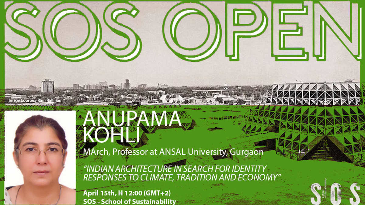 #SosOpen – Indian Architecture in Search for Identity