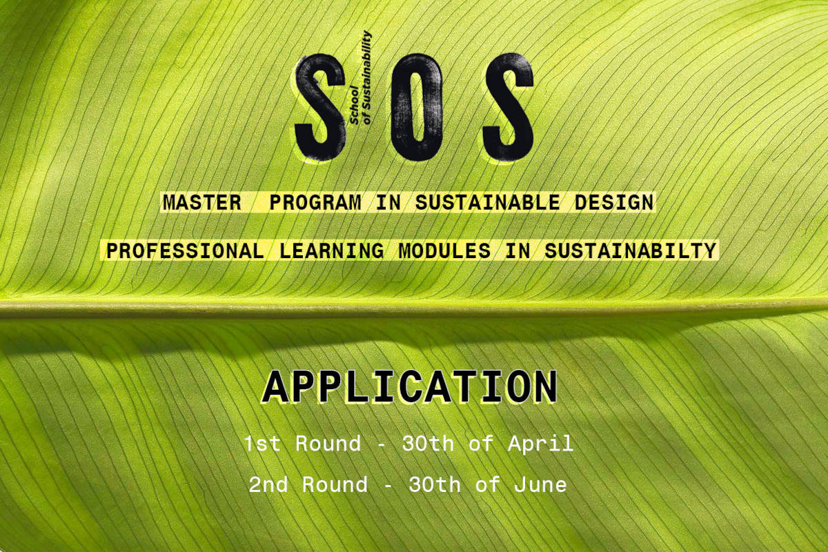 STUDYING AT SOS- application deadline 2021